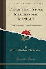 Department Store Merchandise Manuals