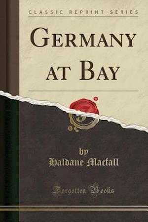 Bog, hæftet Germany at Bay (Classic Reprint) af Haldane Macfall