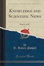 Knowledge and Scientific News, Vol. 4