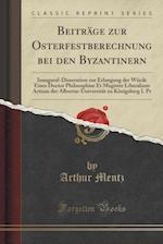 Beitrage Zur Osterfestberechnung Bei Den Byzantinern