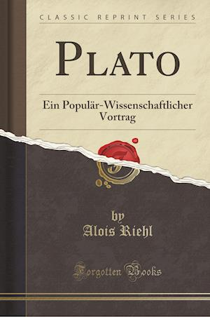 Bog, paperback Plato af Alois Riehl