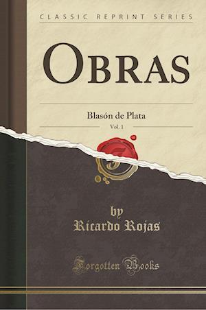 Bog, paperback Obras, Vol. 1 af Ricardo Rojas