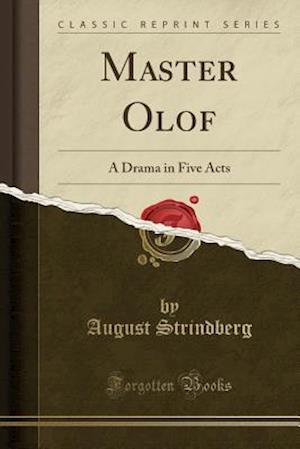 Bog, paperback Master Olof af August Strindberg