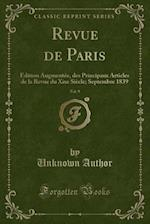Revue de Paris, Vol. 9