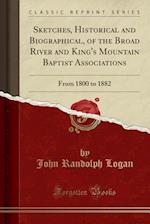 Sketches, Historical and Biographical, of the Broad River and King's Mountain Baptist Associations: From 1800 to 1882 (Classic Reprint)