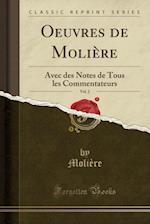 Oeuvres de Moliere, Vol. 2