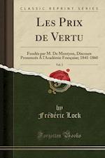 Les Prix de Vertu, Vol. 2