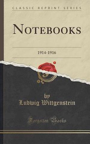 Bog, hardback Notebooks af Ludwig Wittgenstein
