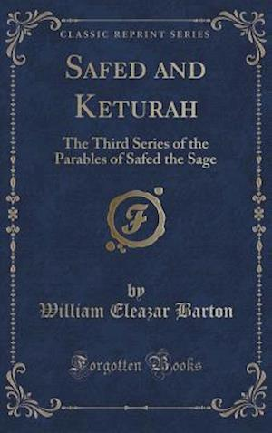 Bog, hardback Safed and Keturah af William Eleazar Barton