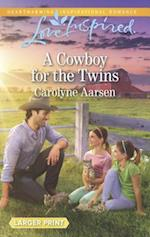 A Cowboy for the Twins (Love Inspired (Large Print))