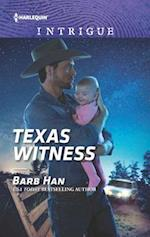 Texas Witness (HARLEQUIN INTRIGUE SERIES)