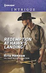Redemption at Hawk's Landing (HARLEQUIN INTRIGUE SERIES)