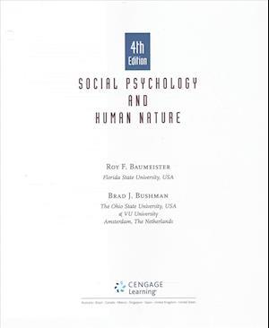 Bog, hardback Social Psychology and Human Natureh + Lms Integrated for Mindtap Psychology, 1-term Access af Roy F. Baumeister