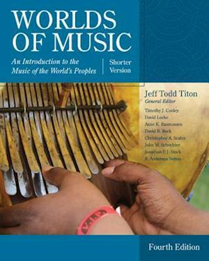 Bog, paperback Worlds of Music af Jeff Todd Titon
