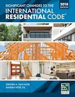 Significant Changes to the International Residential Code 2018