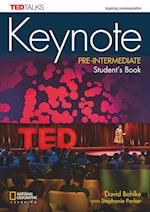 Keynote Pre-Intermediate Student's Book + DVD-Rom