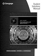 Student Solutions Manual for Waner/Costenoble's Finite Math and Applied Calculus, 7th