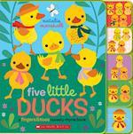 Five Little Ducks (Fingers Toes Nursery Rhymes)