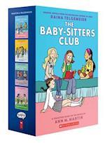 The Baby-Sitters Club Graphix #1-4 Box Set (Baby-sitter's Club Graphix)