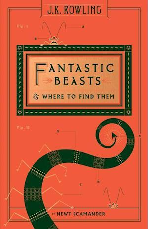 Bog, hardback Fantastic Beasts & Where to Find Them af Newt Scamander