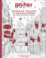 Harry Potter Magical Places & Characters Poster Coloring Book (Harry Potter)