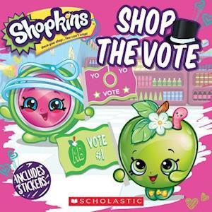 Bog, paperback Shopkins Shop the Vote af Sydney Malone