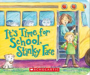 Bog, hardback It's Time for School, Stinky Face af Lisa McCourt