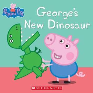 Bog, paperback George's New Dinosaur (Peppa Pig)
