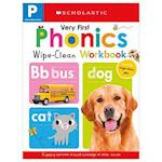 My Very First Phonics Wipe Clean Workbook Pre-K (Scholastic Early Learners)