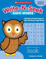 Sight Words (Write N Seek)