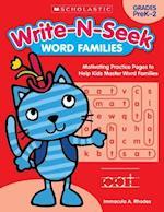 Word Families (Write N Seek)