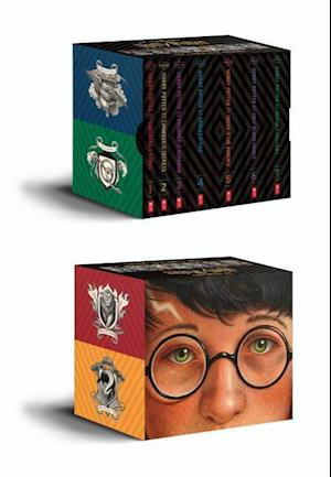 harry potter box dansk tale