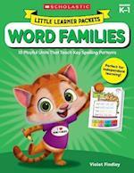 Word Families Grades K-1 (Little Learner Packets)