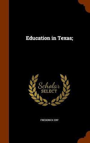 Education in Texas;