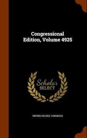 Congressional Edition, Volume 4925