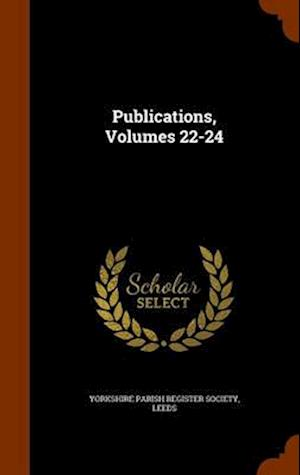 Publications, Volumes 22-24