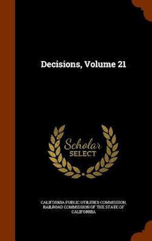 Decisions, Volume 21