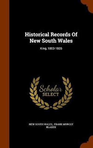 Historical Records of New South Wales