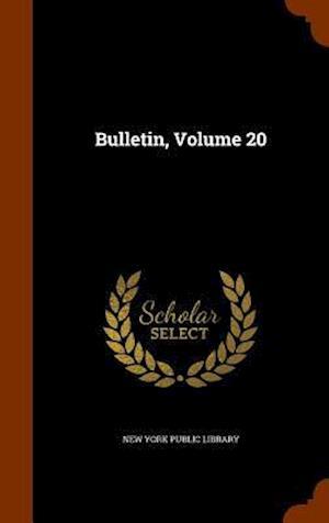 Bulletin, Volume 20
