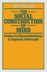 Social Construction of Mind af Jeff Coulter