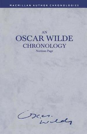An Oscar Wilde Chronology