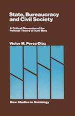 State Bureaucracy and Civil Society af Victor Perez-diaz