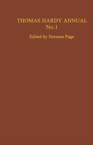 Thomas Hardy Annual No. 1