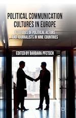 Political Communication Cultures in Western Europe af Barbara Pfetsch