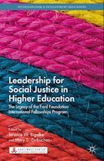 Leadership for Social Justice in Higher Education af Terance W. Bigalke