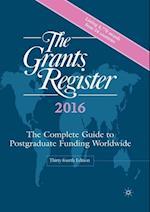 Grants Register 2016