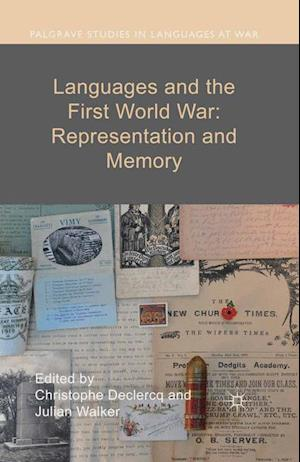 Bog, hæftet Languages and the First World War: Representation and Memory
