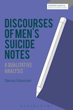 Discourses of Men's Suicide Notes (Bloomsbury Advances in Critical Discourse Studies)