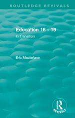 Education 16 - 19 (1993)