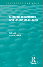 Routledge Revivals: Maritime Boundaries and Ocean Resources (1987) (Routledge Revivals)